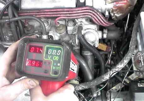 Reglage moteur lampe stroboscopique